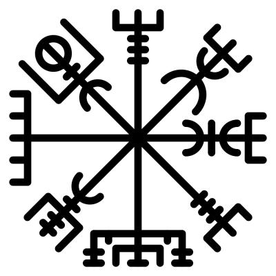 Mistik Ve Kudretli Viking Tılsımları Moko Art Design
